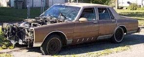 wornout car 590
