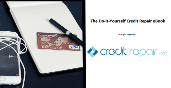 Photo of a credit card, note pad, and eBook
