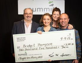 Bridget Thompson Was the 2018 Winner of Project Teen Money