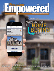 Cover of an Issue of Financially Empowered Magazine