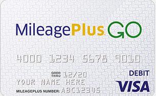 MileagePlus GO Visa Prepaid Card