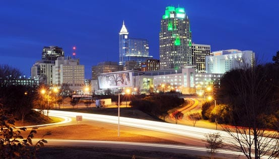 Raleigh at Night