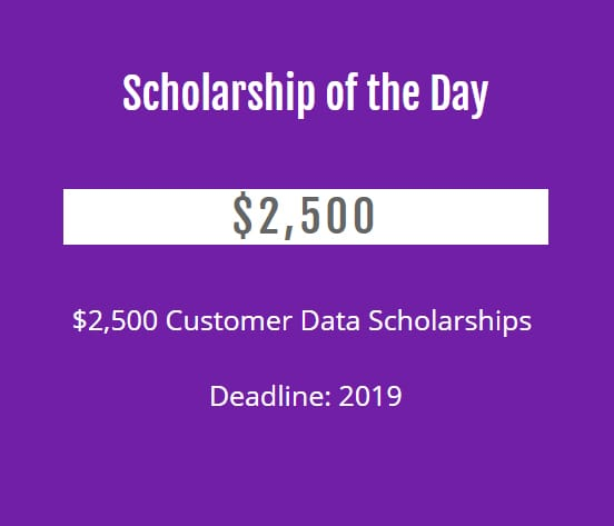 Screenshot of Scholarship of the Day