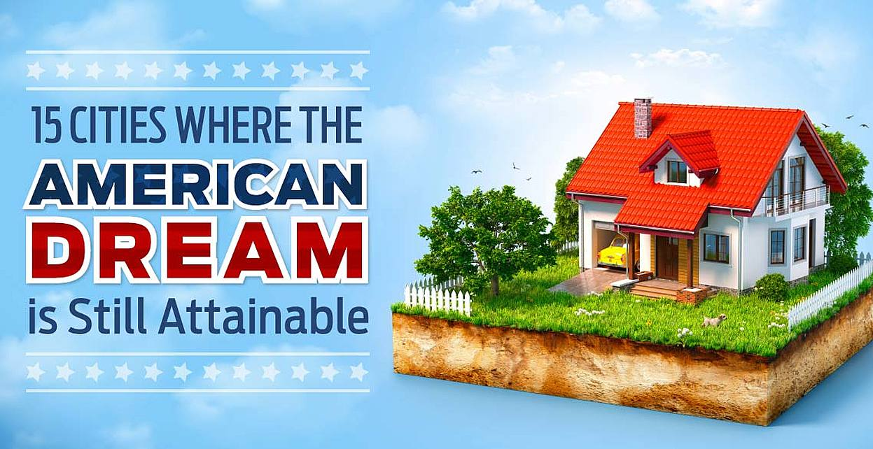 Study: Is the American Dream Still Attainable? 15 Cities Where a High Quality of Life Doesn't Mean a High Cost of Living