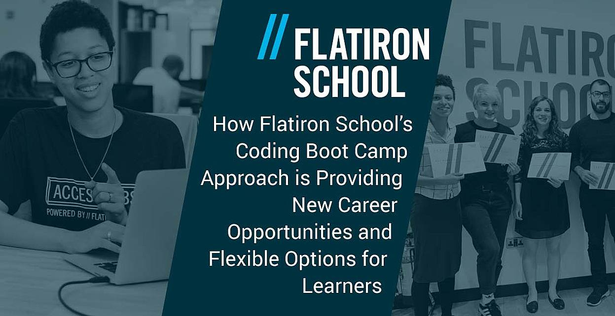 How Flatiron School's Coding Boot Camp Approach is Providing