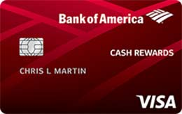 Bank of America® Cash Rewards for Students