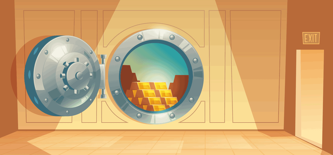Gold Storage Graphic