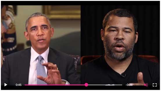 Obama Deepfake Screenshot