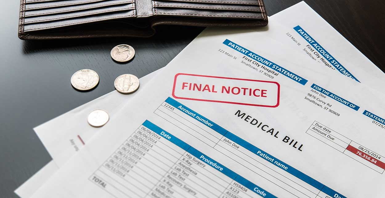 Paying Medical Bills to Avoid Bankruptcy