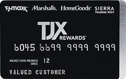 TJX Rewards Credit Card