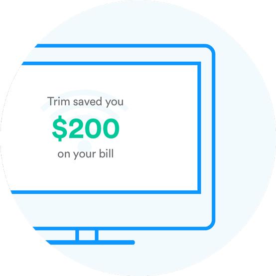 Trim Savings Screenshot