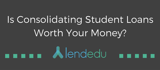Screenshot of LendEDU blog header