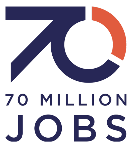 70 Million Jobs Logo