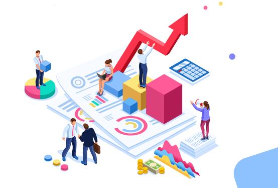 Customer Data Analysis Graphic