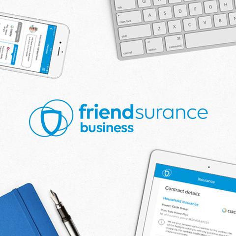 Friendsurance Business Graphic