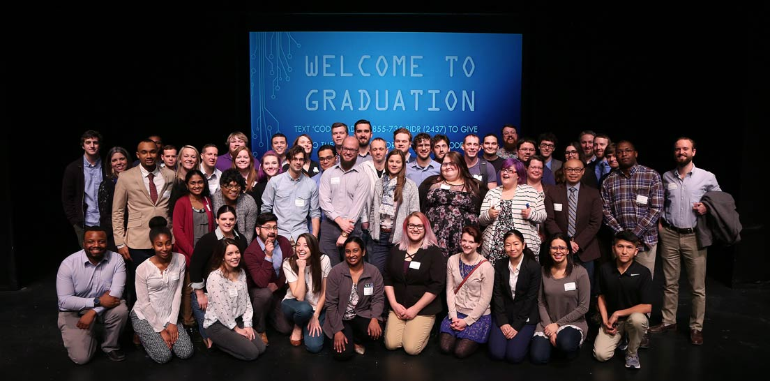 Photo of LaunchCode graduates