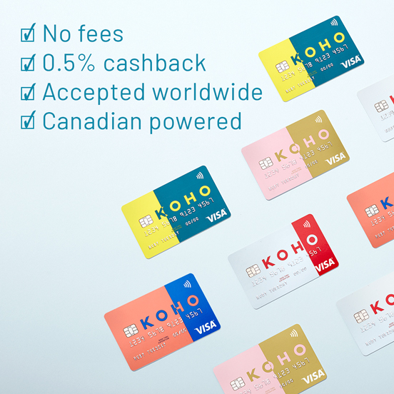 KOHO benefits ad