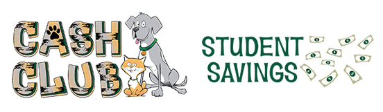 Cash Club and Student Savings logos