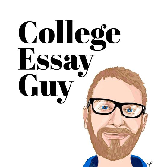 College Essay Guy Logo