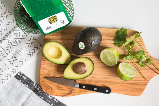 Apeel Avocados and Lime