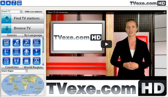 TVexe.com Screenshot