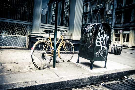 NYC Street Corner Photo