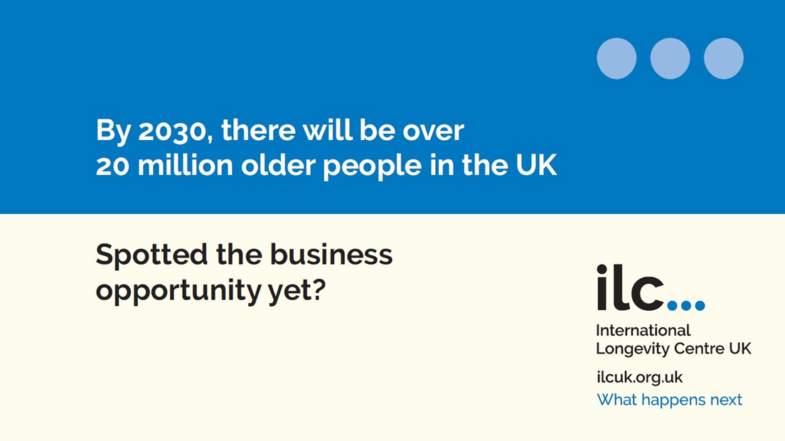 Screenshot of ILC-UK banner ad