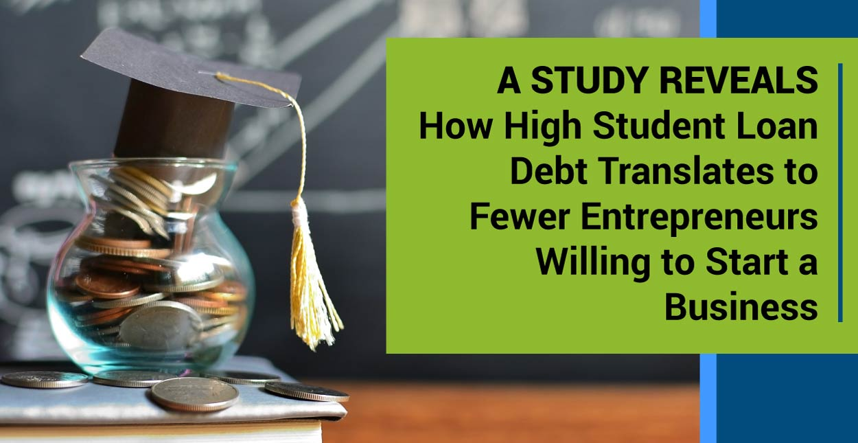 A Study Reveals How High Student Loan Debt Translates To
