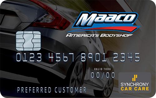 Maaco Credit Card