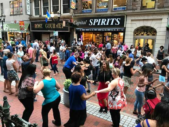 Hartford Residents Dancing