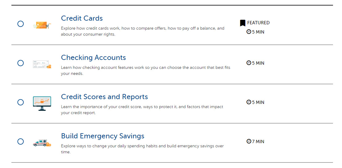 Screenshot of Consumers Credit Union videos