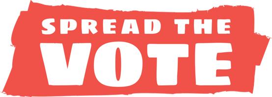 Spread the Vote Logo