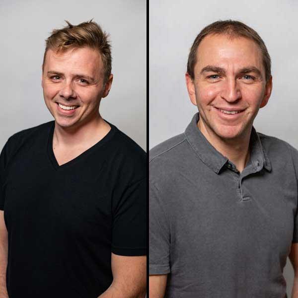 Jonathan Mendonsa and Brad Barrett