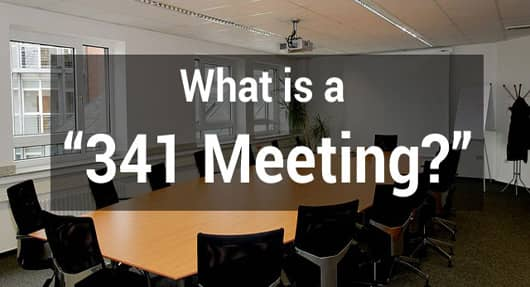 Attend a Creditors' Meeting (341 Meeting)