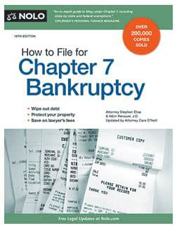How nolo can help you file for chapter 7 bankruptcy image of nolos book solutioingenieria Choice Image
