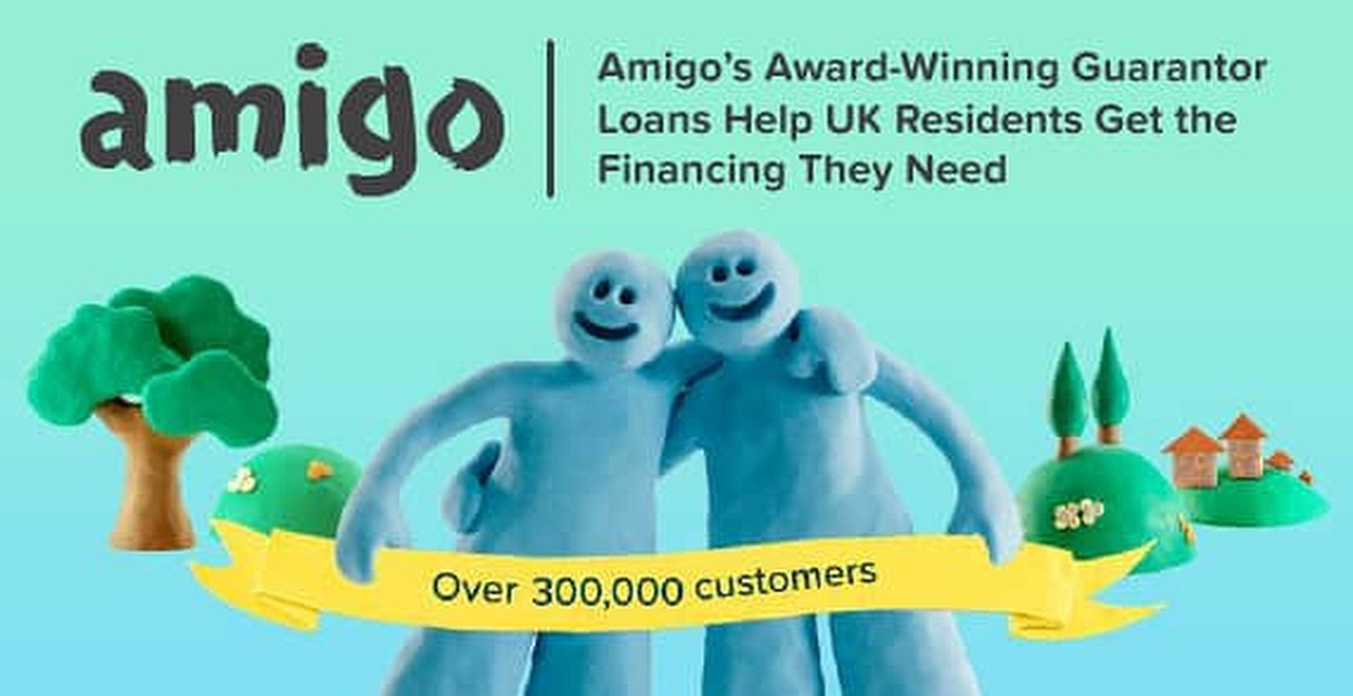 Amigo's Award-Winning Guarantor Loans Help UK Residents Get the Financing They Need