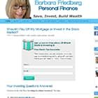 Barbara Friedberg Personal Finance