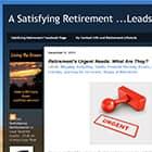 Satisfying Retirement