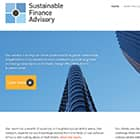 Sustainable Finance Advisory