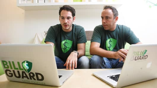 BillGuard Founders Yaron Samid and Raphael Ouzan