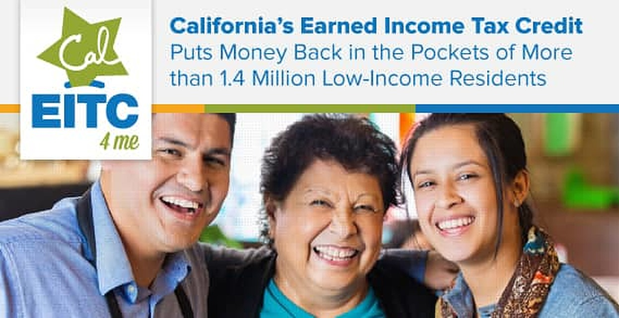 California's Earned Income Tax Credit Puts Money Back in the Pockets of More than 1.4 Million Low-Income Residents