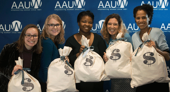 Photo of Attendees at AAUW Work Smart Workshop