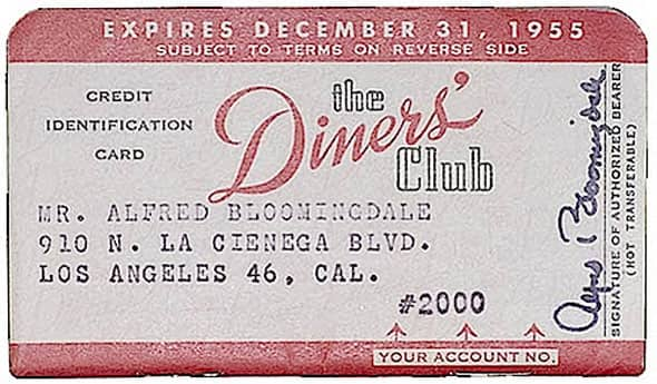 1950 — Diners Club