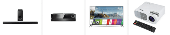 Screenshot of eBay products