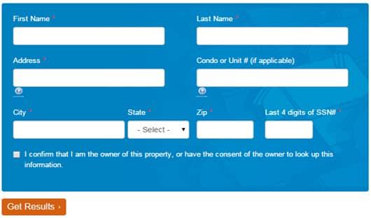 Screenshot of Fannie Mae Loan Lookup tool.