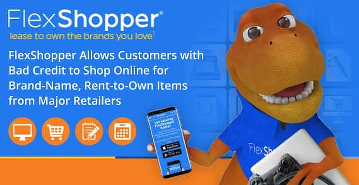 FlexShopper Allows Customers with Bad Credit to Shop Online for Brand-Name Rent-to-Own Items from Major Retailers