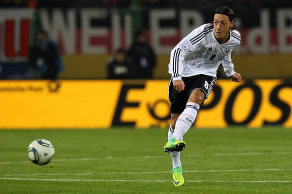 Mesut Özil, Germany