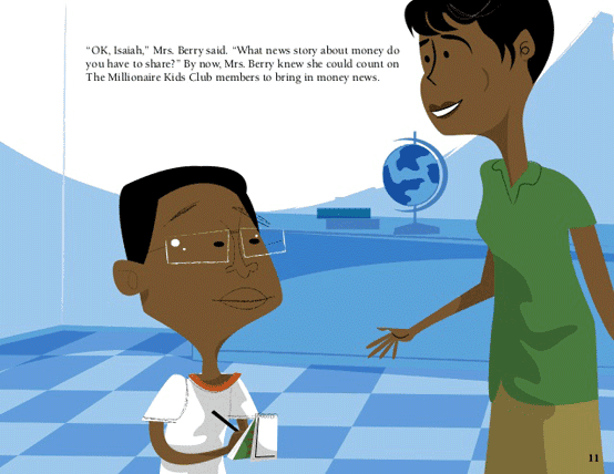 An excerpt from The Millionaire Kids Club