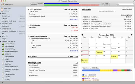 A Comprehensive Overview of your Finances