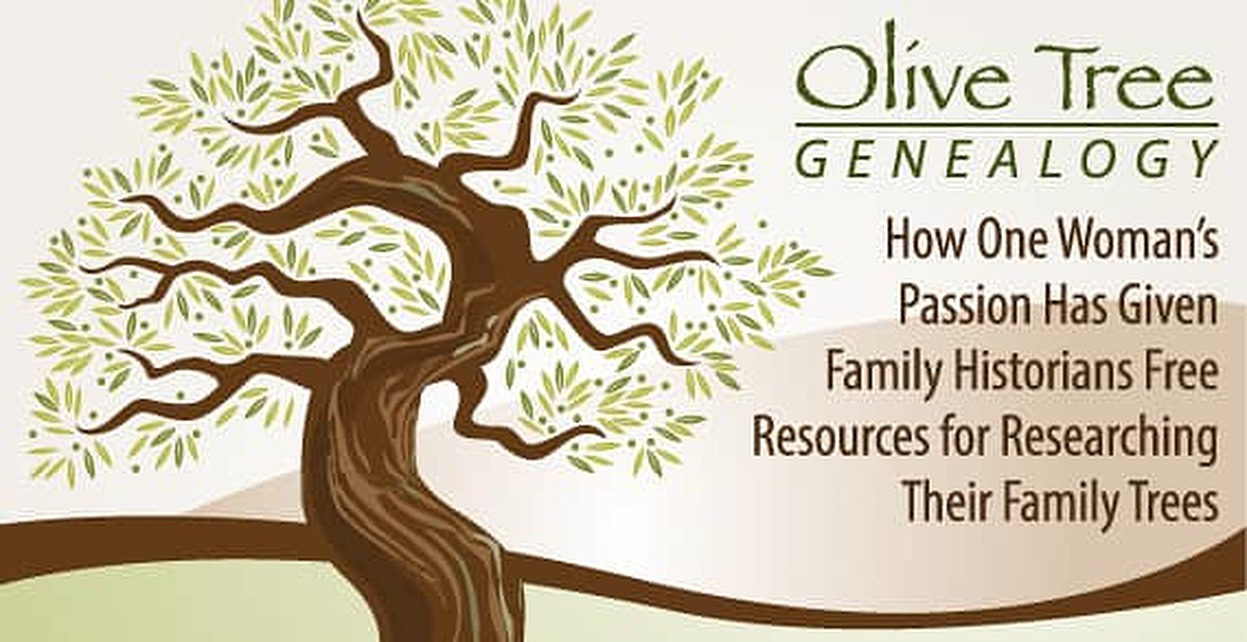 Olive Tree Genealogy — How One Woman's Passion Has Given Family